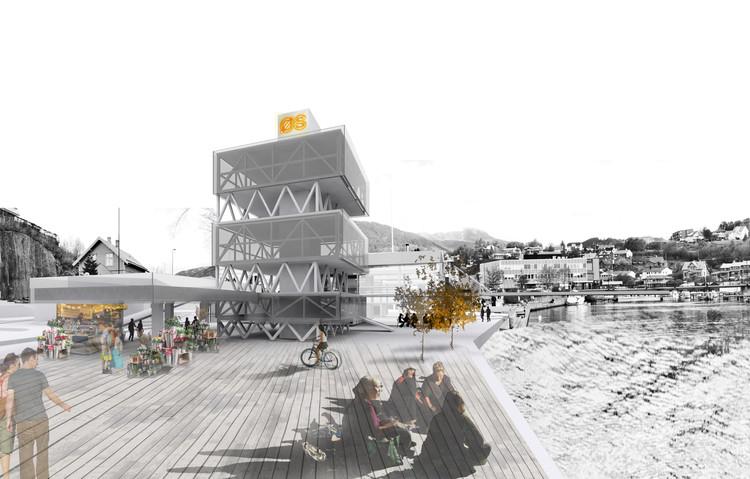 Ganador EUROPAN 13: OSURBIA: Redefiniendo la 'suburbia' / Noruega, Cortesía de knitknot architecture