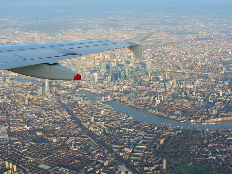 7 Reasons Working Abroad May Be Bad For Your Architecture Career, London. Image © Route66 via Shutterstock.com