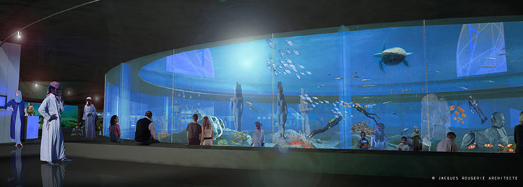 Egypt Revives Plans to Construct an Underwater Museum in Alexandria, © Jacques Rougerie Architecture via The Smithsonian