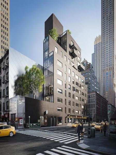 Post-Office Architectes Design Asymmetrical Condo for Tribeca, © M-Prime
