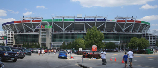FedEx Field, current home of the Washington Redskins. Image © Flickr CC User David