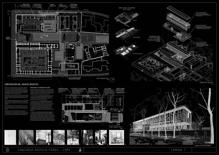 Lámina 01. Image Cortesía de Beals + Lyon Arquitectos