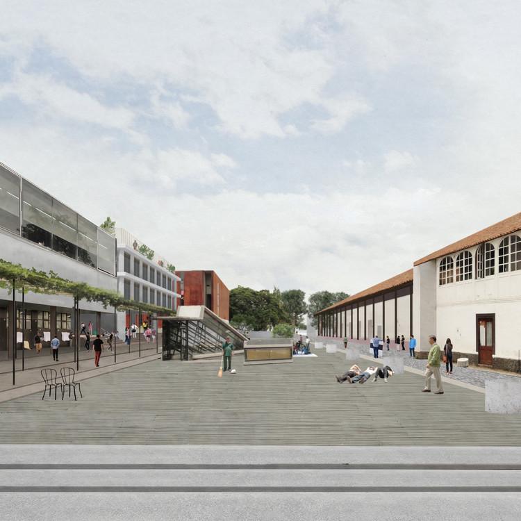Cortesía de Amunátegui Valdés Arquitectos + Plan Común