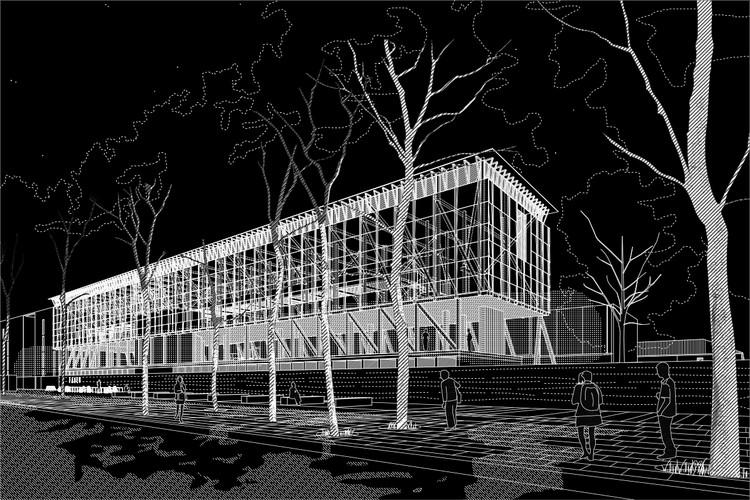 Mención Honrosa: Beals + Lyon Arquitectos. Image Cortesía de FADEU UC
