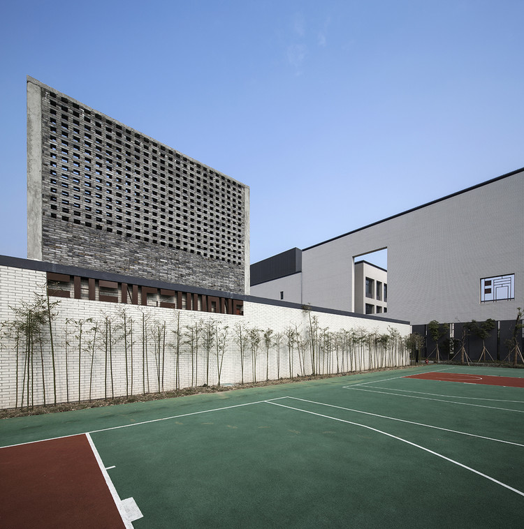 Jiangbei Foreign Language School / DC ALLIANCE, © Lyu Hengzhong