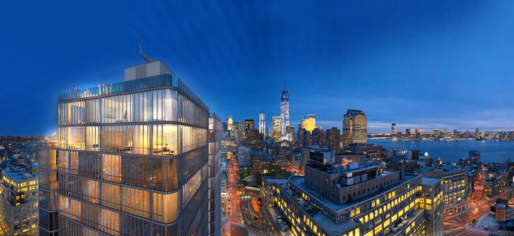 Renzo Piano Designs Glass Soho Tower for New York, © RPBW
