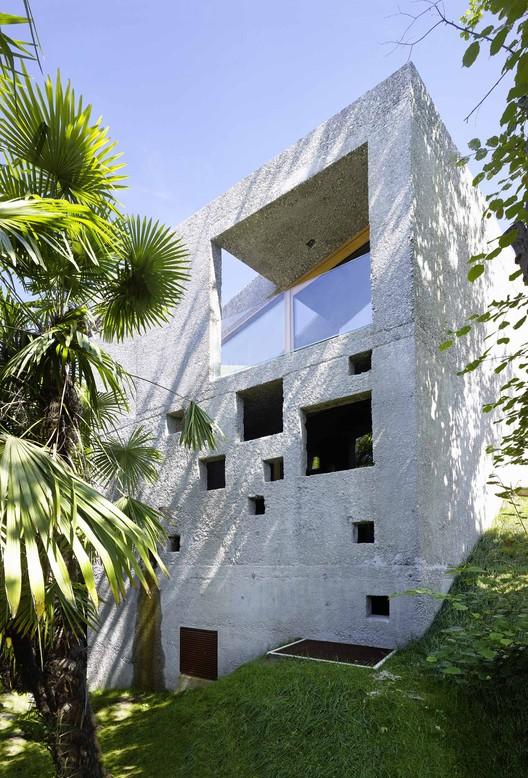 Casa de hormigón en Caviano / Wespi de Meuron Romeo architects, © Hannes Henz