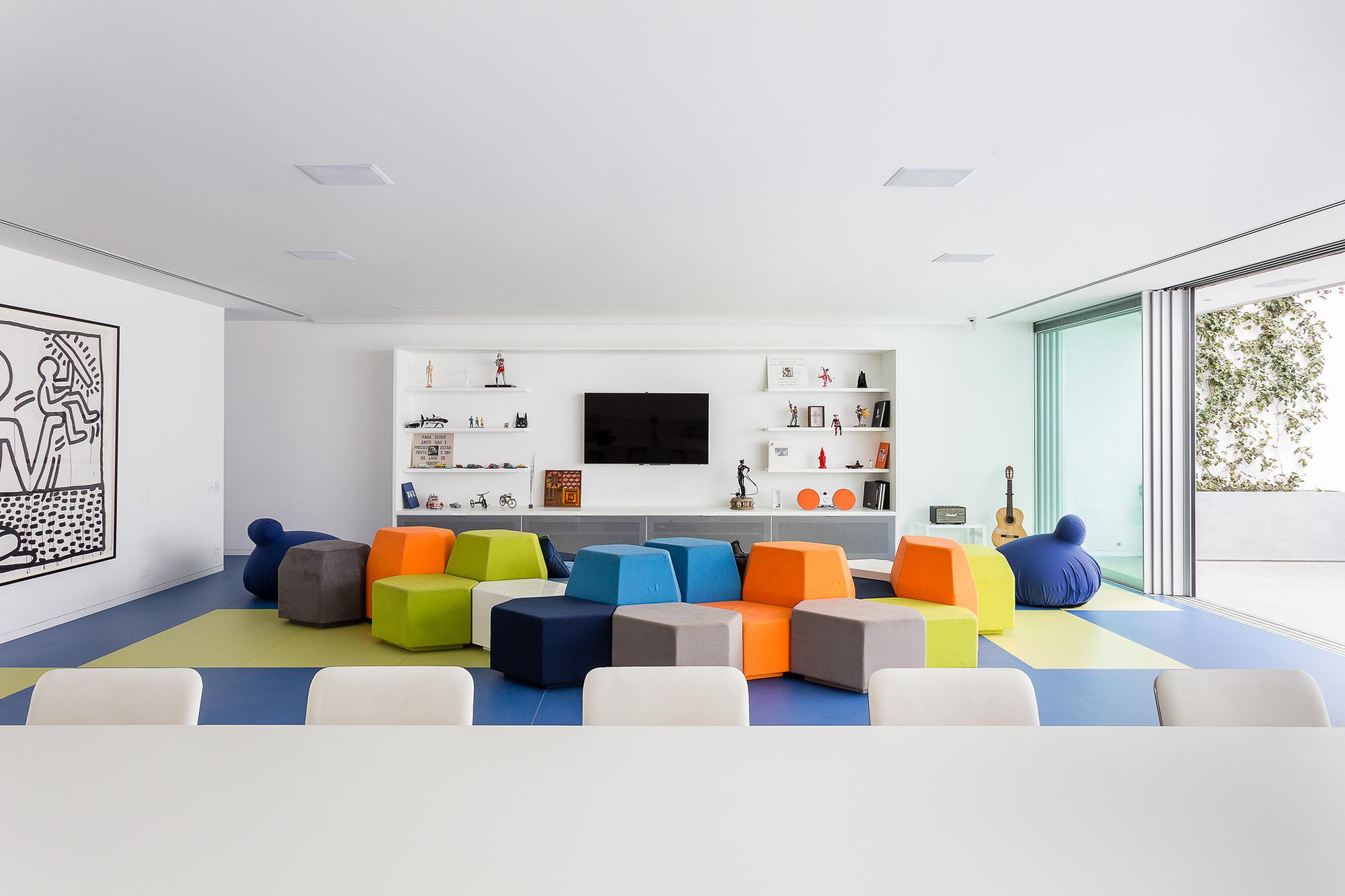 Galeria de brinquedoteca pascali semerdjian arquitetos 4 - Maison brooklin sao paulo galeria arquitetos ...