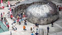 "STUDIOKCA's NASA Orbit Pavilion Lets Visitors Listen to the ""Sounds of Space"""