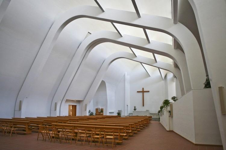 Iglesia de la Riola / Alvar Aalto. Image © Franco Di Capua