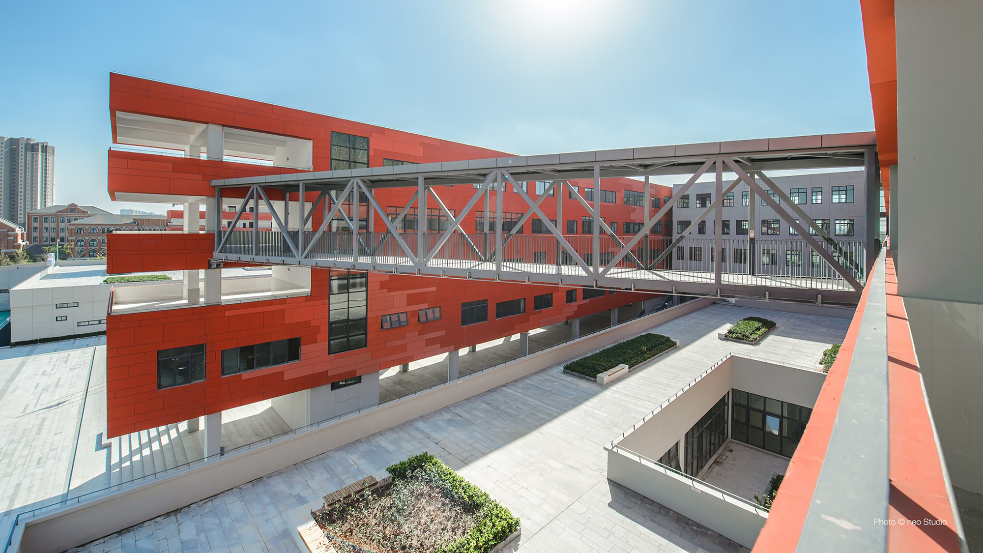 Hefei No 45 Middle School Volumeone Archdaily