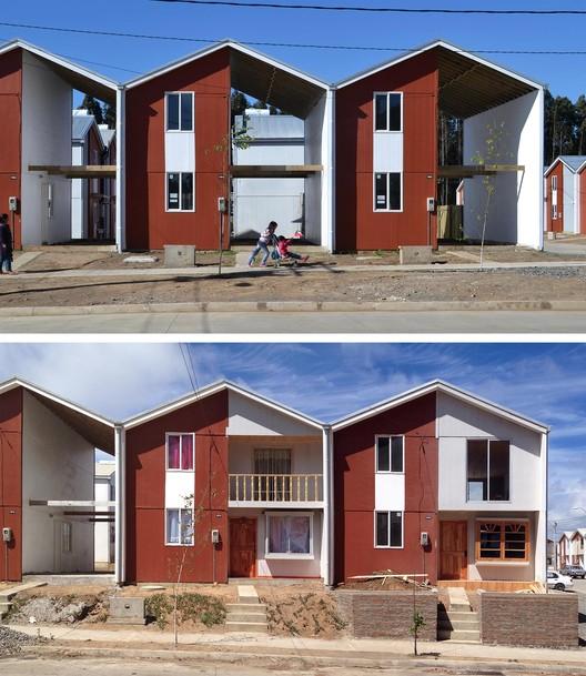 Villa Verde Housing. Constitución, Chile 2013. Image Courtesy of ELEMENTAL