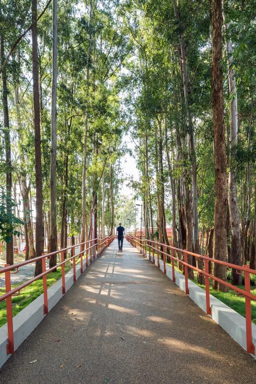 Reservatório-Parque Cangaíba. Image © Ana Mello