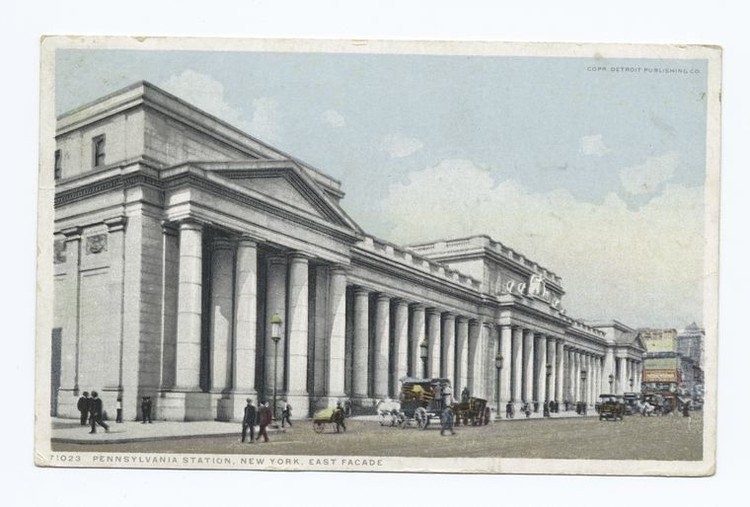 Penn Station. Image via The New York Public Library