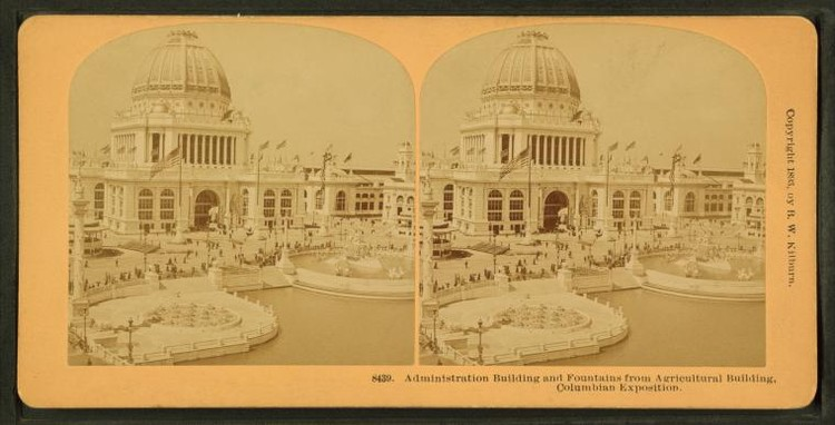 World's Columbian Exposition, Chicago, 1893. Image via The New York Public Library