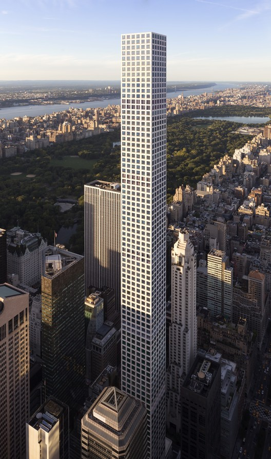 The World Now Has 100 Supertall Buildings, 432 Park Avenue, New York City. Image © DBOX for CIM Group & Macklowe Properties