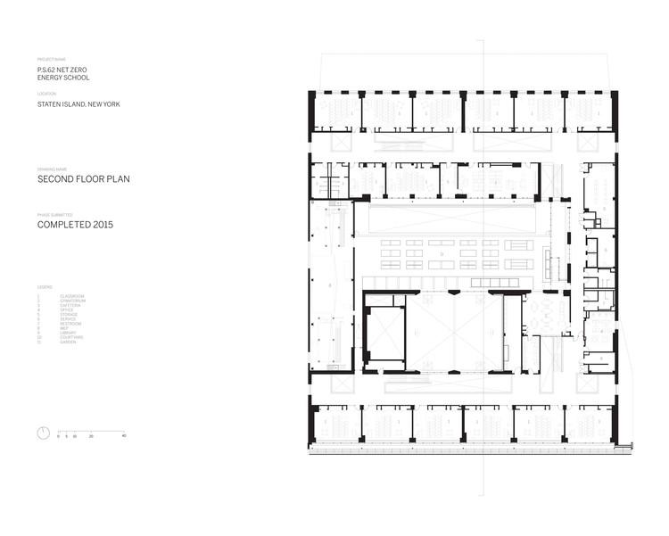 Floor Plan © SOM