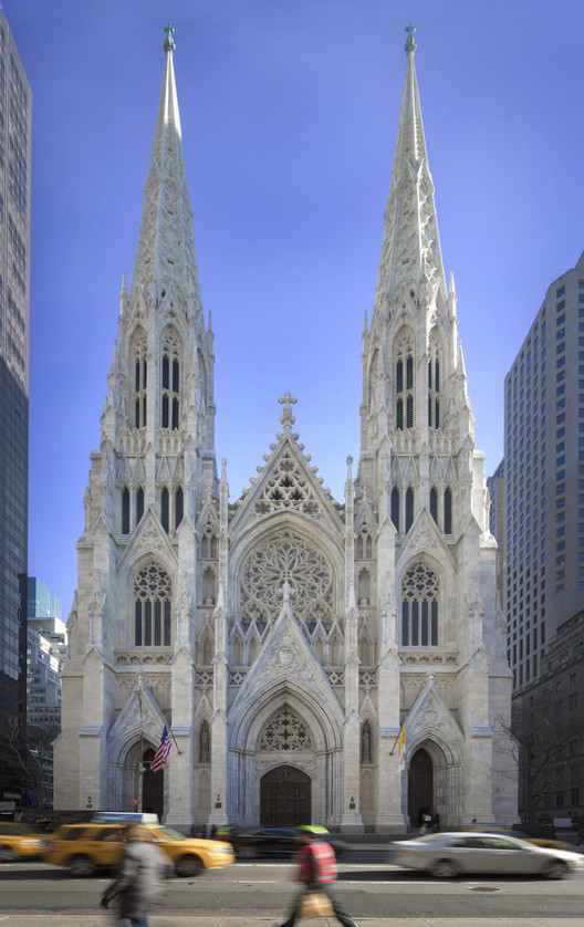 St. Patrick's Cathedral Conservation, Renovation & Systems Upgrade; New York City / Murphy Burnham & Buttrick Architects. Image via AIA