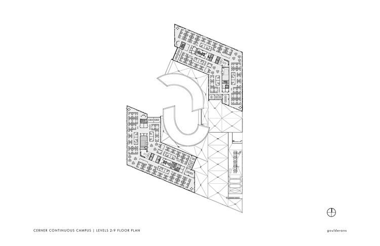 2° -9° Floor Plan