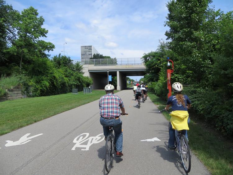 Cómo Detroit pasó de ser la capital automotriz de EE.UU. a la ciudad con más viajes en bicicleta, Detroit, EE.UU. Image © Sean_Marshall, vía Flickr