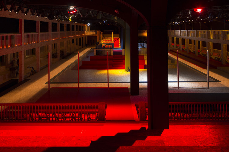 OMA/AMO's Latest Prada Runway is Inspired by 17th Century Auto-Da-Fé Trials, © OMA. Photographed by Agostino Osio