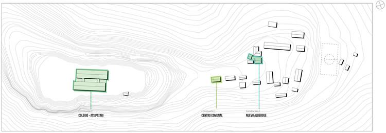 Plano de ubicación de intervenciones.