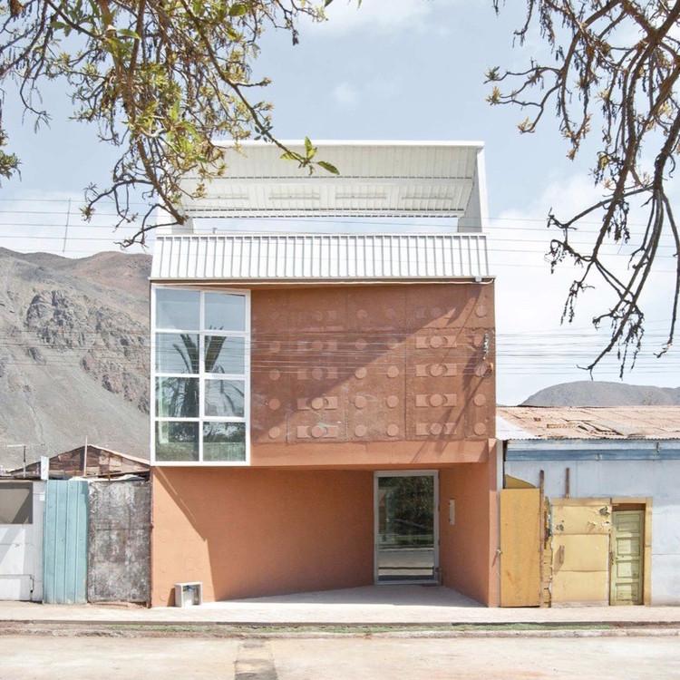 Taltal Public Library / Murúa-Valenzuela Arguitectos. Image © Macarena Alvarez
