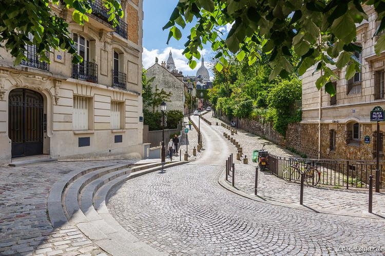 Plaza Dalida, París. Image © Loïc Lagarde, vía Flickr