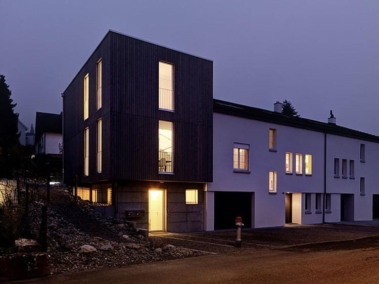 The Autumn House / Daniele Claudio Taddei, © Bruno Helbling