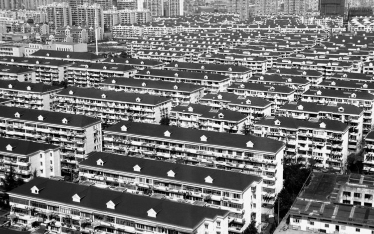 The existing state of Jinan's housing. Image Courtesy of Feifei Feng
