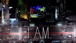 "Guto Requena's ""I AM"" Installation Lights Up Paulista Avenue with People's Emotions"