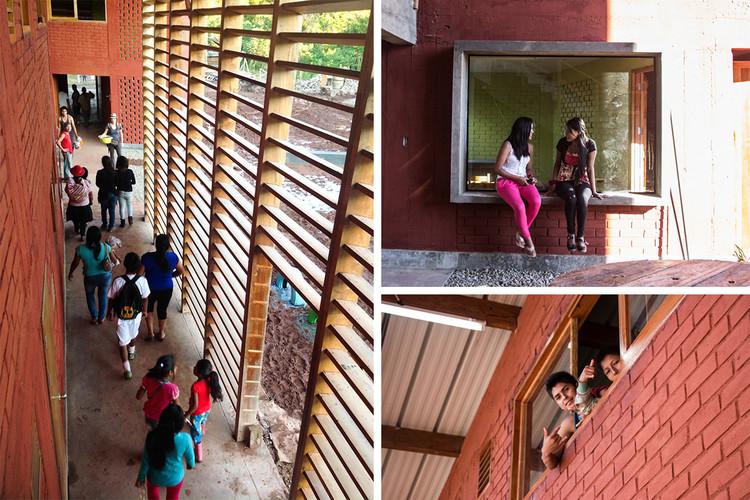 Escuela Secundaria Santa Elena. Image © Marta Maccaglia