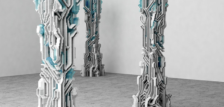 Column prototype. Image © Amalgamma