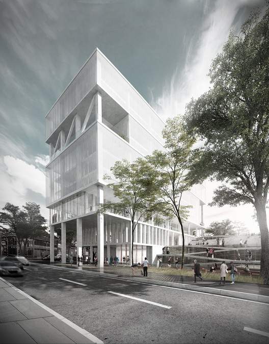 MOBO Architects Win Competition to Design Government Building in Bogotá, Colombia, © M.O.N.O.M.O., Courtesy of MOBO Architects