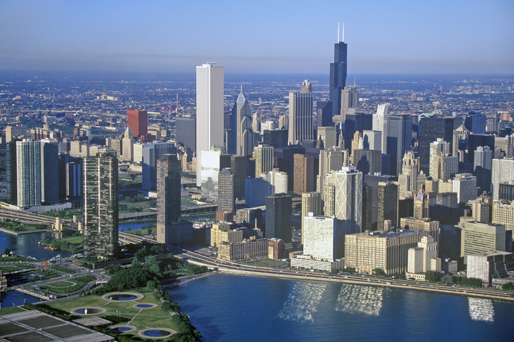 Explore the Chicago Skyline With This Interactive Graphic, © Joseph Sohm / shutterstock.com