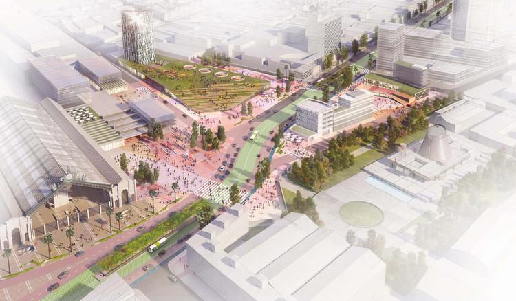 Estación Central. Image Cortesía de Luis Vidal + Arquitectos
