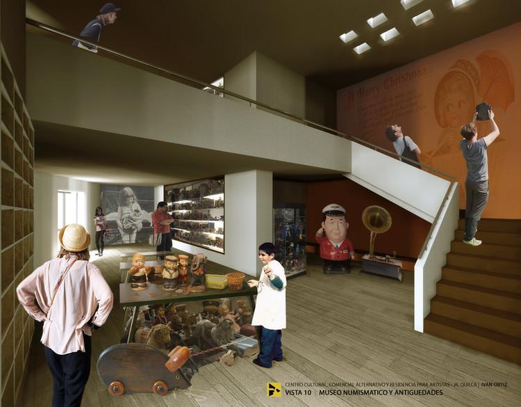 Vista Museo Numismático. Image Cortesía de Ivan Ortiz