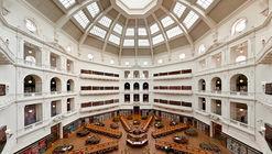 4 oficinas finalistas para rediseñar la biblioteca pública más antigua de Australia