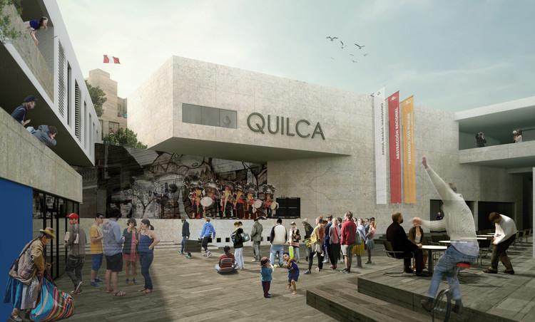 Regenerando un barrio contracultural: Propuesta para el Jirón Quilca en Lima, Centro Cultural y Residencia para Artistas. Image Cortesía de Ivan Ortiz