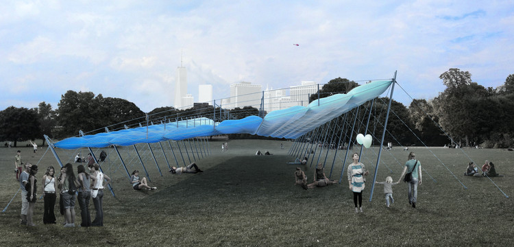Pneu Pavilion. Image Courtesy of FIGMENT