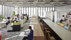 Nikken Space Design Osaka Office / Nikken Space Design