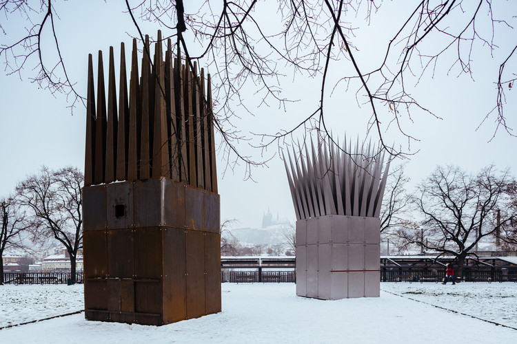 John Hejduk's Jan Palach Memorial Opens in Prague , © Miroslav Cikán