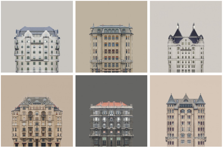 Zsolt Hlinka's Urban Symmetry Photographs Reimagine Danube River Architecture , © Zsolt Hlinka