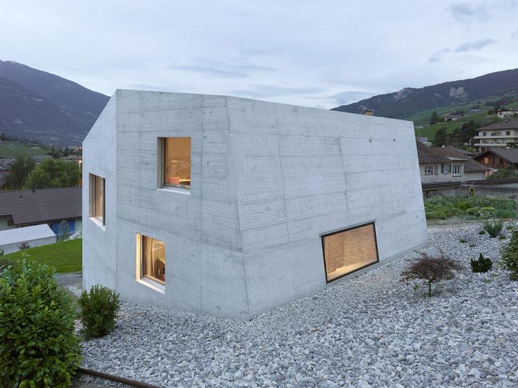 Casa Métrailler / Savioz Fabrizzi Architectes, © Thomas Jantscher