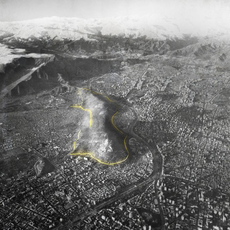 Paseo Zócalo Metropolitano, la propuesta de ELEMENTAL para el Cerro San Cristóbal en Santiago. Image © Guy Wenborne, vía ELEMENTAL