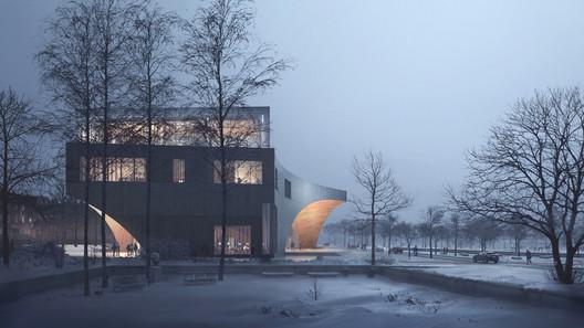 Snøhetta Designs New Library for Temple University in Philadelphia