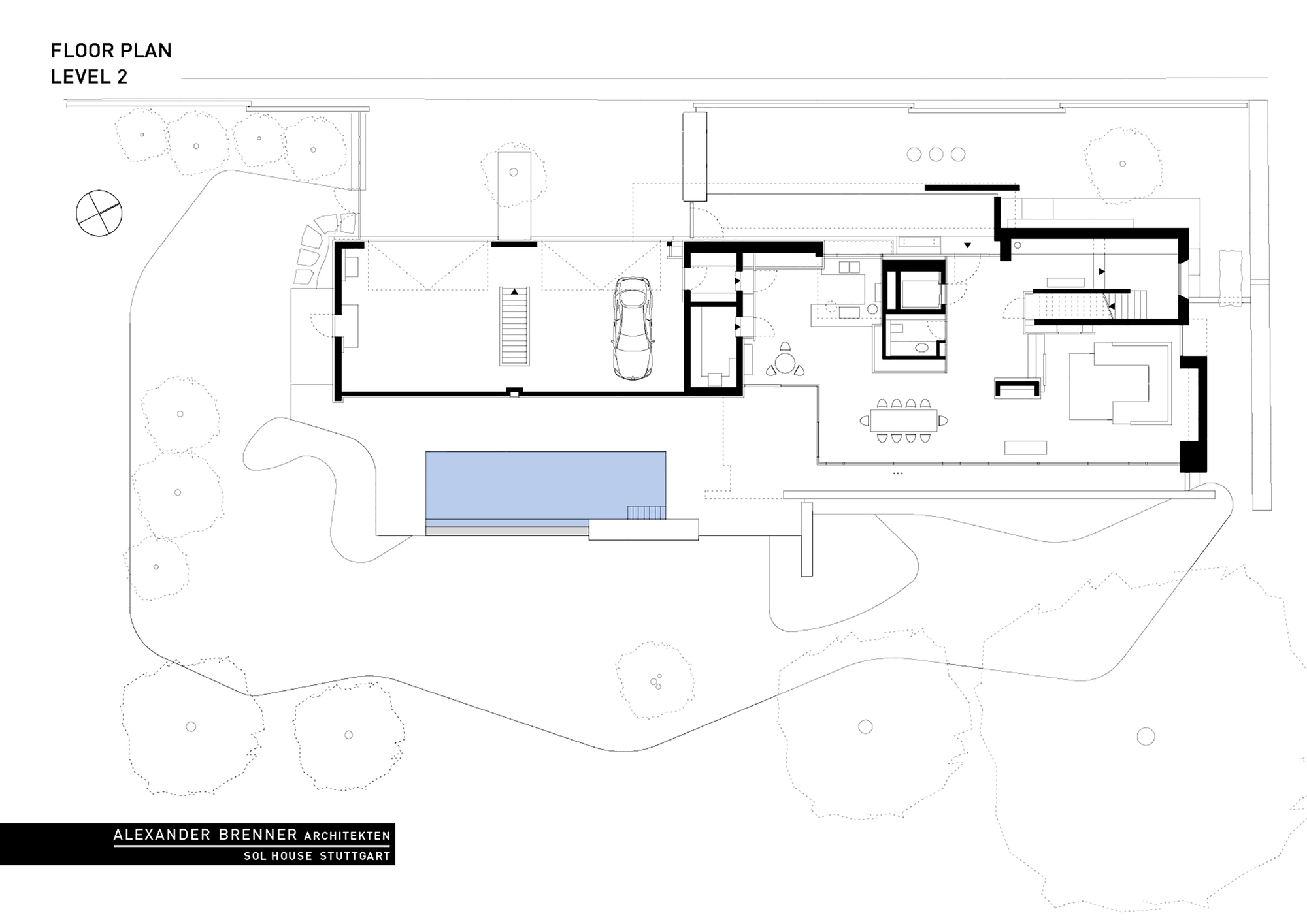 Floorplan Of A House Gallery Of Sol House Alexander Brenner Architects 17