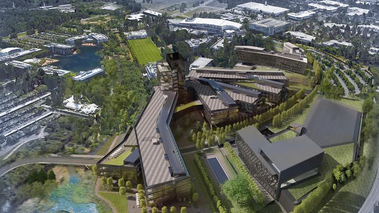 Nike, Inc. revela el plan de expansión para sus oficinas centrales en Oregon, Vía Nike