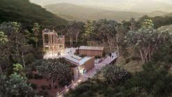 Comienza construcción en Ecuador de sendero ecológico diseñado por Estudio 685