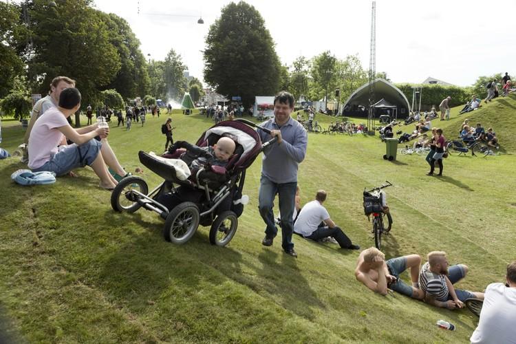 The City Park / Schønherr. Image © Martin Dam Kristensen for Aarhus Festival